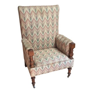 English Traditional Library Chair