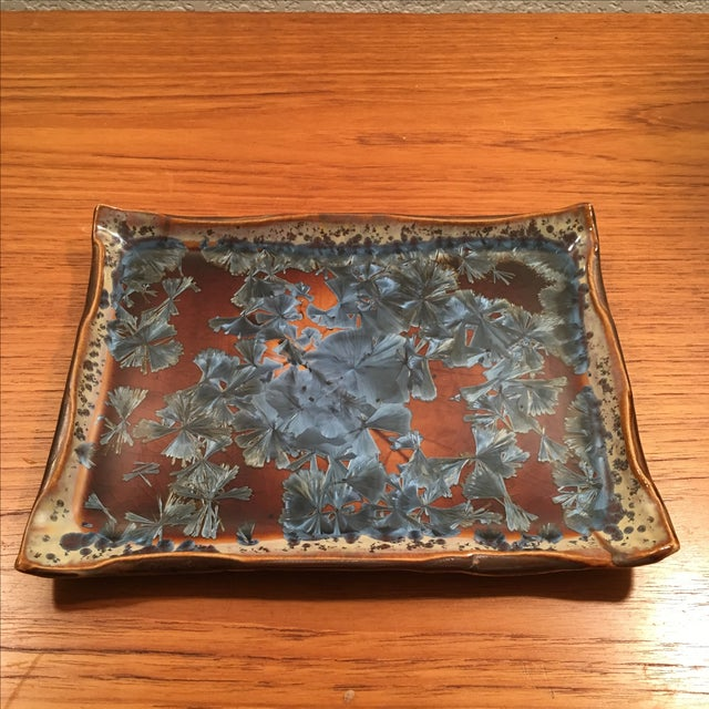 Art Pottery Plate by Hong Rubinstein - Image 2 of 8