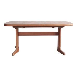 Teak Dyrlund Table For Sale