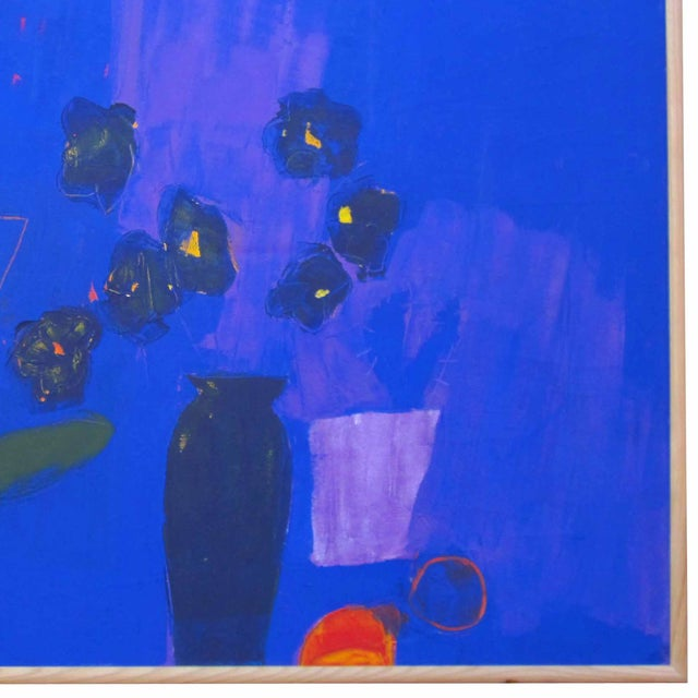 Blue Vase Painting - Image 2 of 2