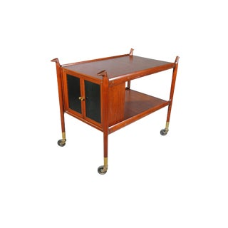 1950s Mexican Serving Cart