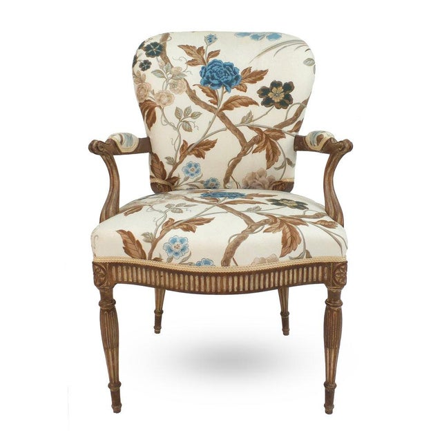 Adam Style Armchair For Sale In New York - Image 6 of 6