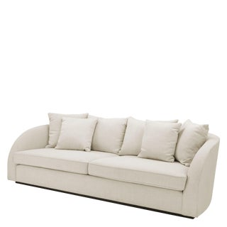 Eichholtz Les Palmiers Off White Sofa For Sale