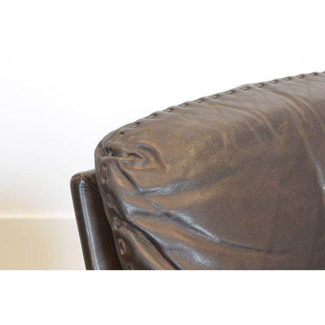 De Sede Desede Ds-31 Leather Sofa For Sale - Image 4 of 5