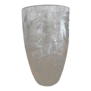 Tiffany Traditional Crystal Vase For Sale