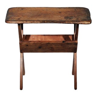 Aged Outdoor Activity Work Table For Sale