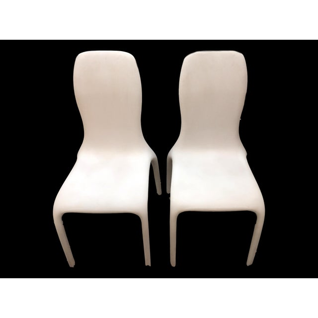 2010s Italian Angelo Tomaiuolo for Tonin Casa Lisetta Leather Chairs - A Pair For Sale - Image 5 of 5