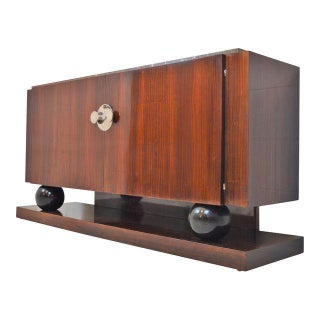 Art Deco Sideboard Signed by Jacques Adnet, 1930.