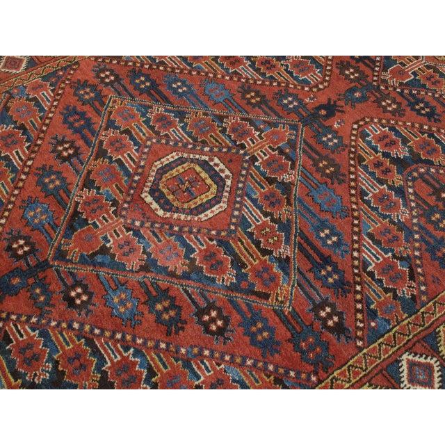 Antique Beshir Turkmen Rug For Sale - Image 4 of 8