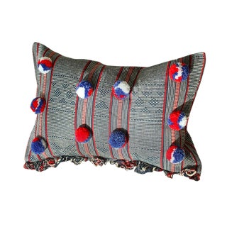 Sumba Ikat Handwoven Decorative Pillowcase - Holiday Cruise Pillow Collections No. 1 For Sale