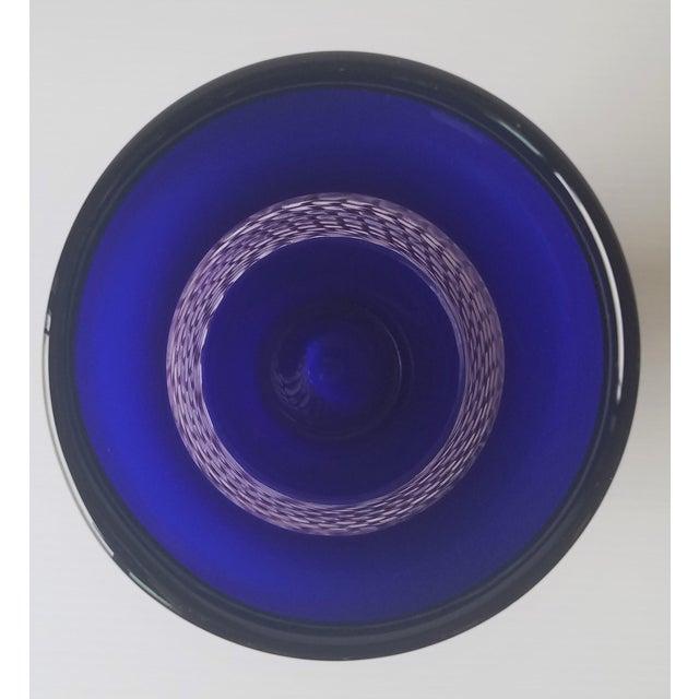Steve Gibbs Blown Glass Vase for Corning Museum of Glass For Sale - Image 4 of 13