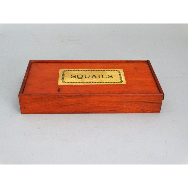 19th-Century English Squails Game, Rare For Sale - Image 9 of 10