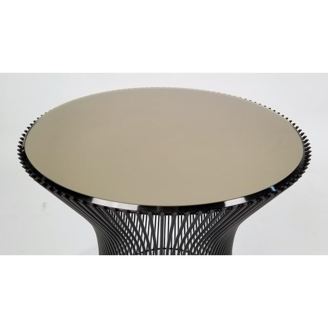 1960s Early Bronze Side Tables by Warren Platner for Knoll, 1966 - a Pair For Sale - Image 5 of 9