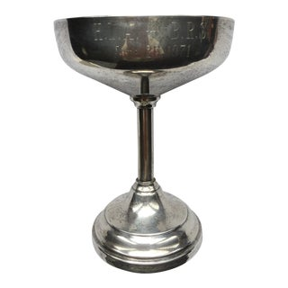 Sterling Silver Wine Goblet For Sale