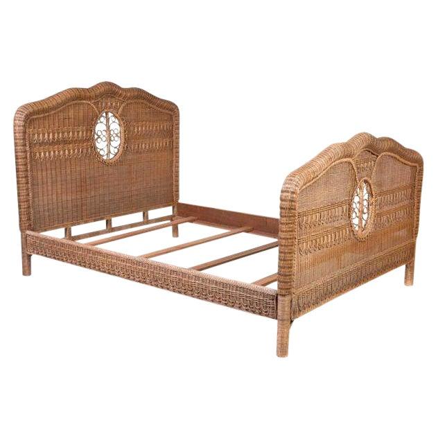 Ralph Lauren Wicker Bed For Sale