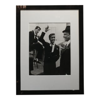 Phil Stern -The Rat Pack-Dean Martin,Frank Sinatra & Sammy Davis Jr.1954 Photo