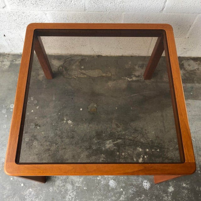 Vintage Mid Century Danish Modern End Table by Uldum Mobelfabrik. For Sale In Miami - Image 6 of 13
