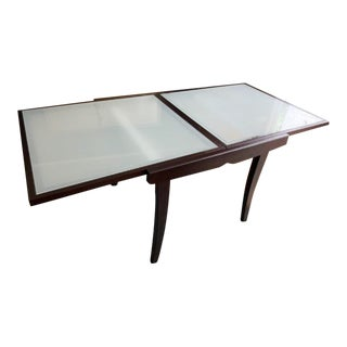 Gorgeous Italian Calligaris Extendable Dining Table For Sale