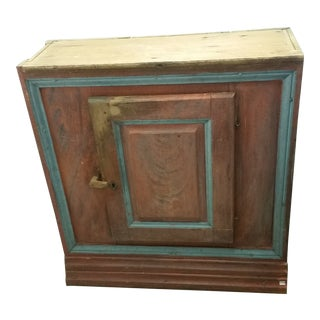 Painted Swedish Antique Cabinet For Sale