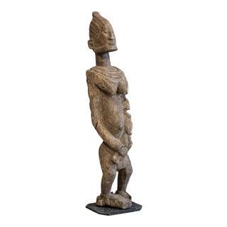 Vintage Dogon Ancestral Figure Wood Sculpture For Sale