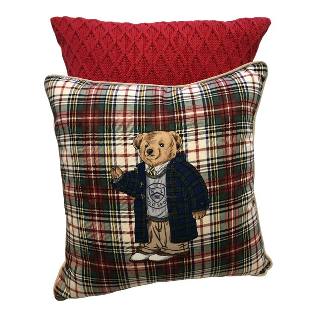 Ralph Lauren Pillows, a Pair For Sale