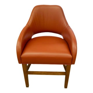 Custom Leather Chair For Sale