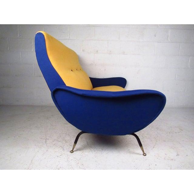 Italian Modern Zanuso-Style Sofa - Image 4 of 9