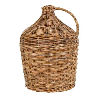 Mainly Baskets French Country Winery Jug For Sale