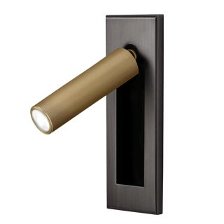 Black Bronze With English Brass Led Wall Light With Docking For Sale
