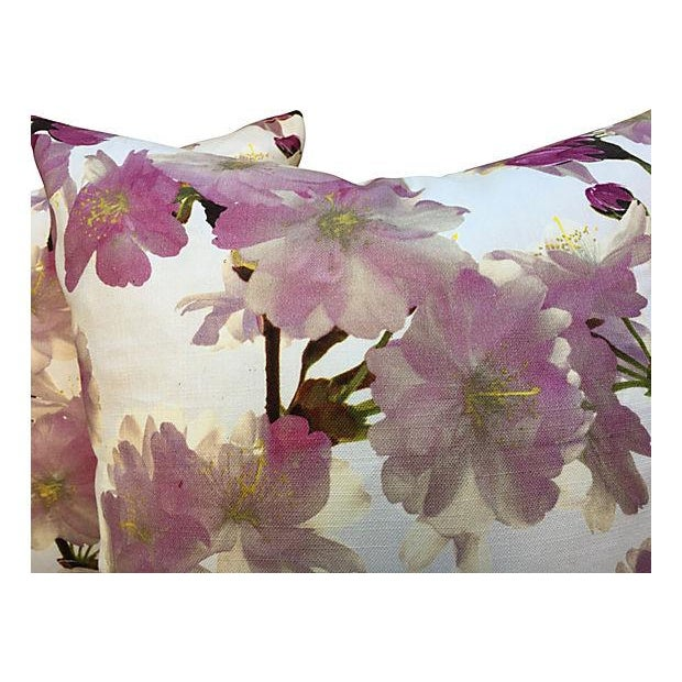 Floral Pillows - Pair For Sale - Image 4 of 5