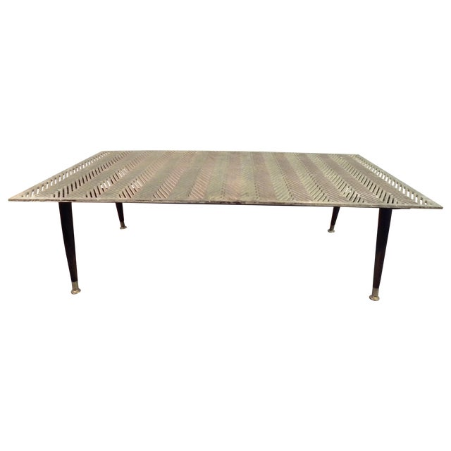 Industrial Up Cycle Coffee Table - Image 1 of 9