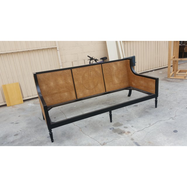 "Slant LA Custom to Order ""La Made"" Collection Bench For Sale - Image 4 of 6"