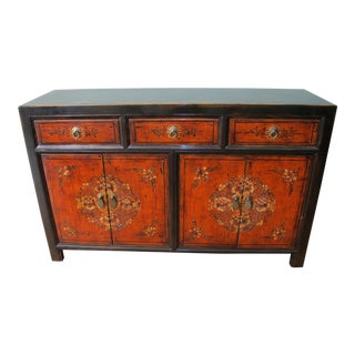 Antique Chinese Mongolian Sideboard