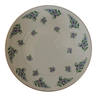 Royal Victoria English White and Green Bone China Dessert Plate For Sale