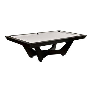 Modern Black Pool Table For Sale