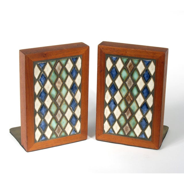 Marshall Studios Harlequin Bookends - Pair - Image 2 of 5
