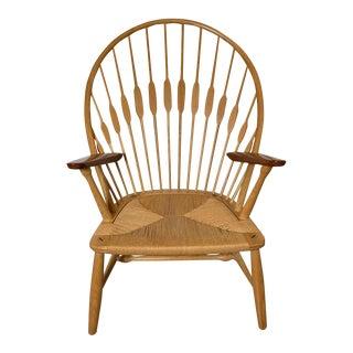 """1960a Vintage Hans J. Wegner for Johannes Hansen Jh550 """"Peacock Chair"""" For Sale"""