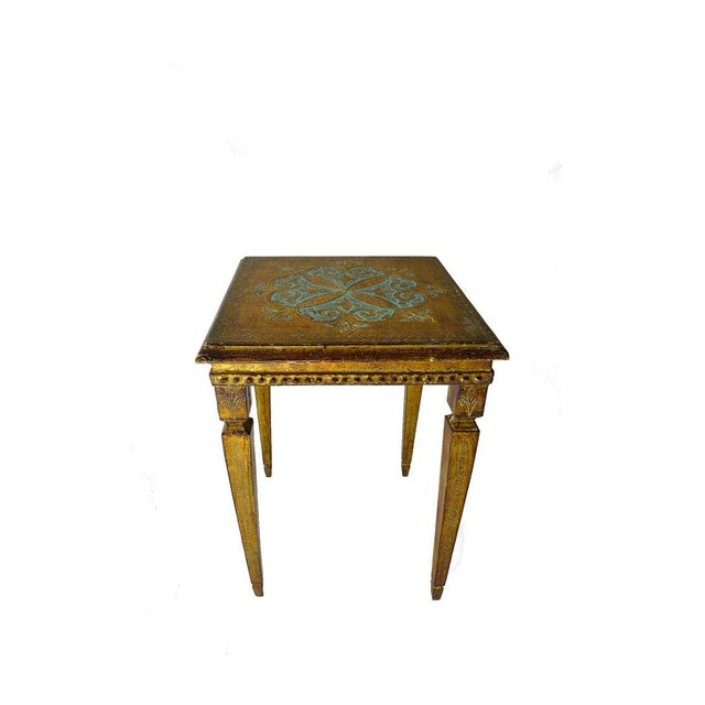 Vintage French Side Table - Image 2 of 2