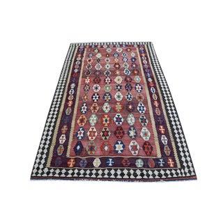 Antique Persian Gaghaie Kilim Rug - 4′9″ × 7′11 For Sale