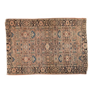 "Antique Farahan Sarouk Rug - 3'4"" x 4'9"" For Sale"
