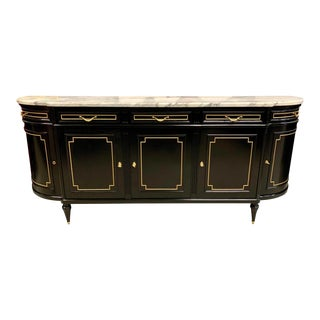 1910s Vintage French Louis XVI Sideboard For Sale