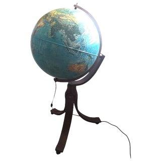 1982 Rand McNally Geoscope World Globe