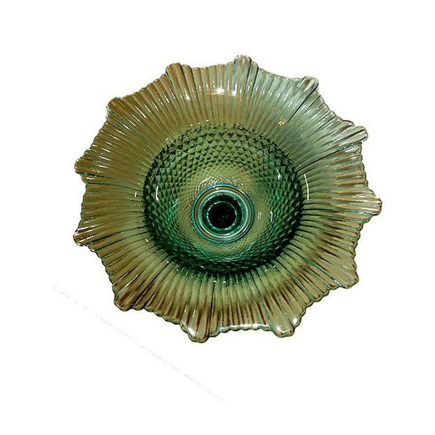 Pressed Glass Pedestal Bowl - Image 2 of 5
