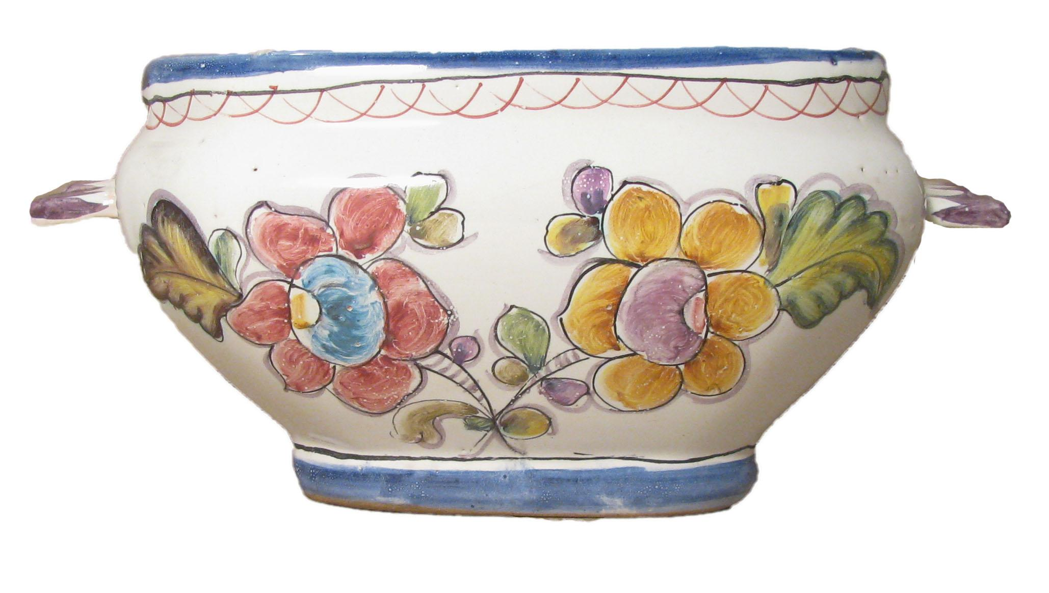 Vintage Portuguese Coimbra Pottery Tureen - Image 3 of 4  sc 1 st  Chairish & Vintage Portuguese Coimbra Pottery Tureen | Chairish