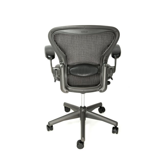 Modern Herman Miller Aeron Fully Loaded Chair, Size B For Sale - Image 3 of 4