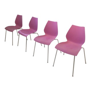 Modern Kartell Maui Chairs- Set of 4 For Sale