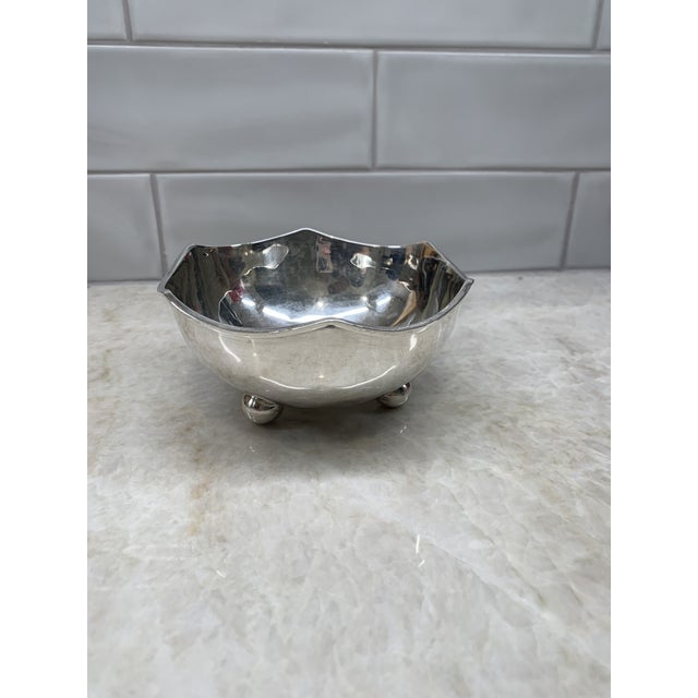 Mid 20th Century Vintage Mid-Century Mexican Sterling Silver Bowl For Sale - Image 5 of 5