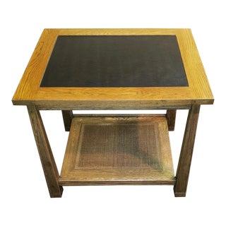 A. Brandt Co. Ranch Oak Side Table For Sale
