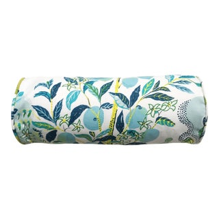 Schumacher Citrus Garden Outdoor Pillow For Sale