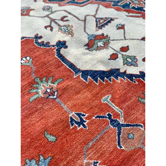 1990s Serapi Large Area Rug-10′ × 13′9″ For Sale In Atlanta - Image 6 of 13